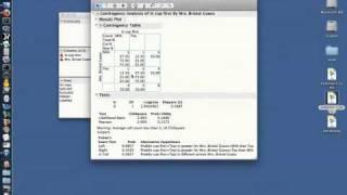 JMP (video 3/8) - Contingency Tables