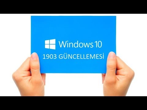 WINDOWS 10 - 1903 GÜNCELLEMESİ