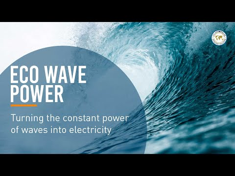 Eco Wave Power: turning the constant power of waves into electricity