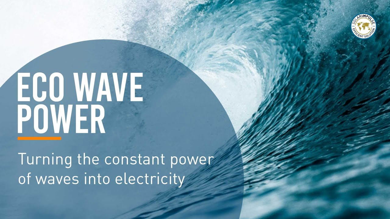 Eco Wave Power makes Clean Energy from Ocean Waves