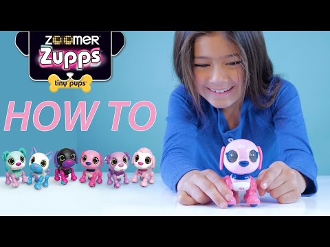 Zoomer   Zupps Tiny Pups   How To