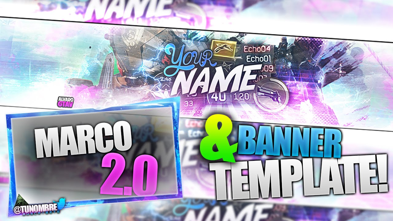 EPIC BO3 FREE BANNER TEMPLATE + MARCO 2.0!! (with download link .psd ...