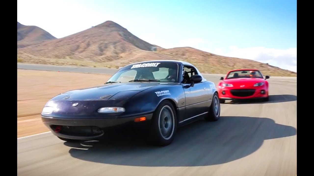 KBB Races a Mazda Miata - Part 4: Training With a Pro - YouTube