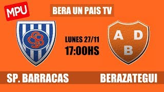 Sportivo Barracas vs Berazategui full match