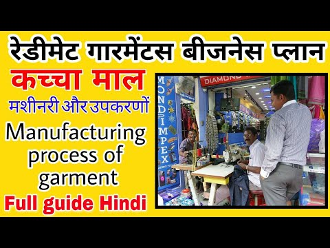 readymade garments business plan