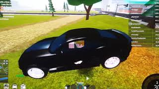 ROBLOX : i broke my BlacK CAR