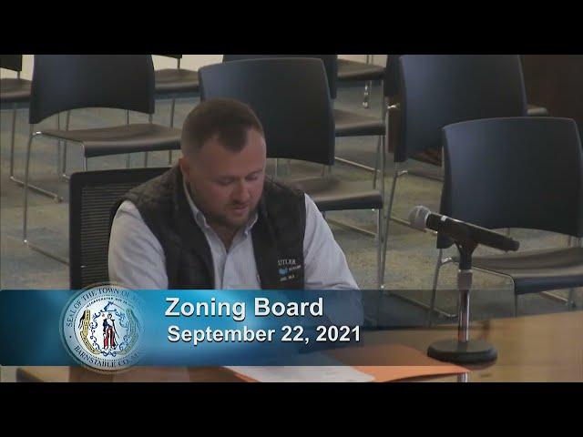 Zoning Board 9-22-21