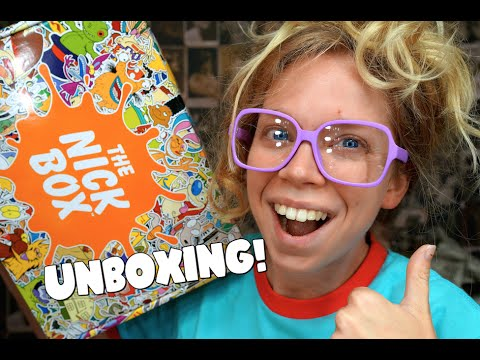 90s NICKELODEON MYSTERY BOX!