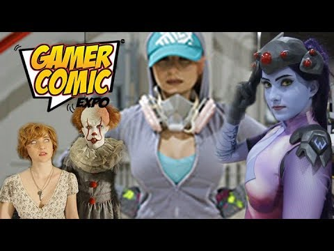 Gamer Comic Expo 2018 - Cosplay Music Video