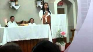 Aline Morgado - Salmo 115 na Missa da Ceia do Senhor