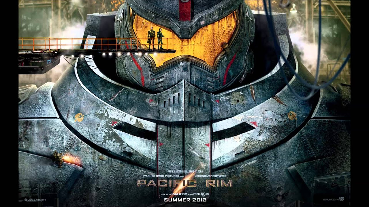Pacific Rim Original Score 02 - Gipsy Danger by Ramin ... Pacific Rim Gipsy Danger Poster