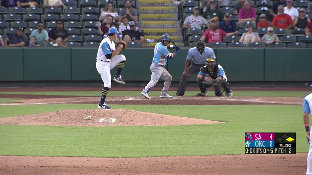 Dodgers Minor League highlights: Prospect Keibert Ruiz hits home run in Triple-A Oklahoma City Debut