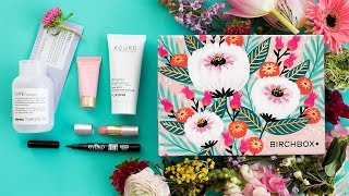 Birchbox Customization: April 2018
