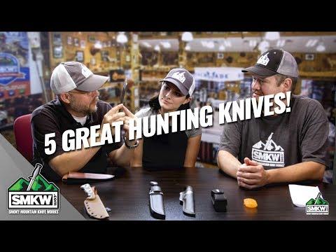 Guys Talk Knives: 5 Great Hunting Knives (S2 Ep 81)