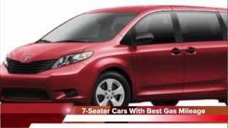 7 Seater Cars With The Best Gas Mileage Youtube