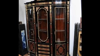 Boulle Bookcase Display Cabinet