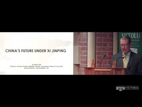 The Kippenberger Public Lecture –  China's future under Xi Jinping