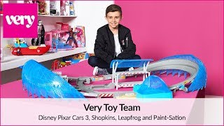 Disney Pixar Cars 3, Shopkins, Leapfrog and Paint-Sation Review   Very Toy Team