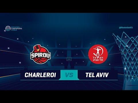 Spirou Basket v Hapoel Tel Aviv - Full Game - Qualif. Rd. 1