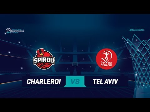 Spirou Basket v Hapoel Tel Aviv - Full Game - Qualif. Rd. 1 - Basketball Champions League 2018