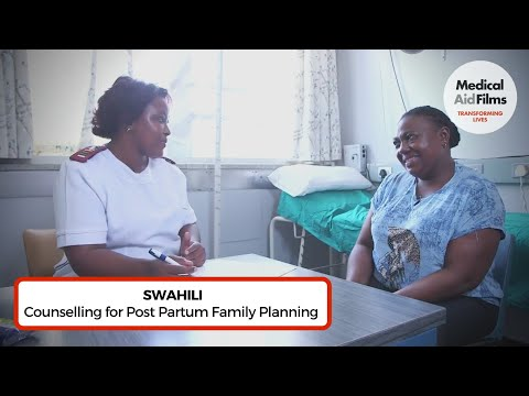 Counselling for Post Partum Family Planning (Swahili)