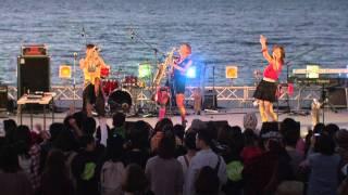 """熊本県で行われた音楽フェス「CROSS ZERO」にて。 """"SARUSKA"""" at """"Kumamo..."""