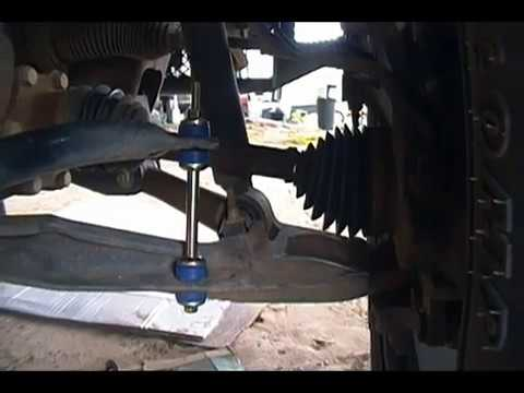 Chevy Silverado Sway Bar End Link Replacement - YouTube