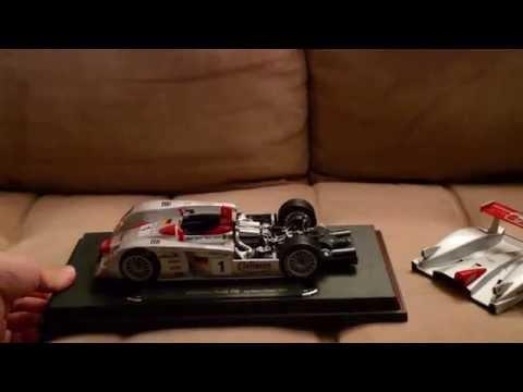 Relax - Unboxing Audi R8 LMP 2001 [ASMR]