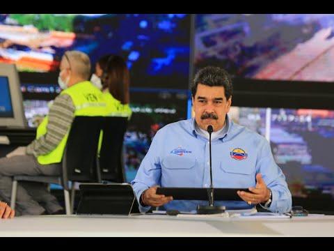 Presidente Maduro ofrece balance de la Gran Misión Cuadrantes de paz y estrena aplicación Android