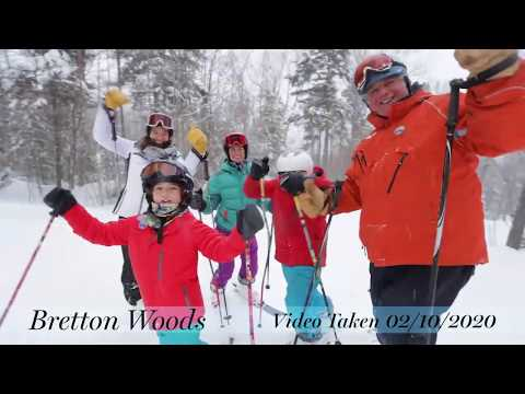 Winter is Here at Bretton Woods - February Powder!