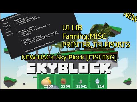 Hack Roblox One Piece Millennium Tp Df Roblox Free Walk Sky Block Fishing Hack Script Free Working Ui Lib Auto Farm Tp Df Auto Build Auto Fish New Youtube