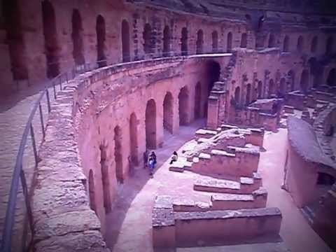 El Djem - Tunisia: the coliseum / il colosseo (by Omar Fakhfekh)