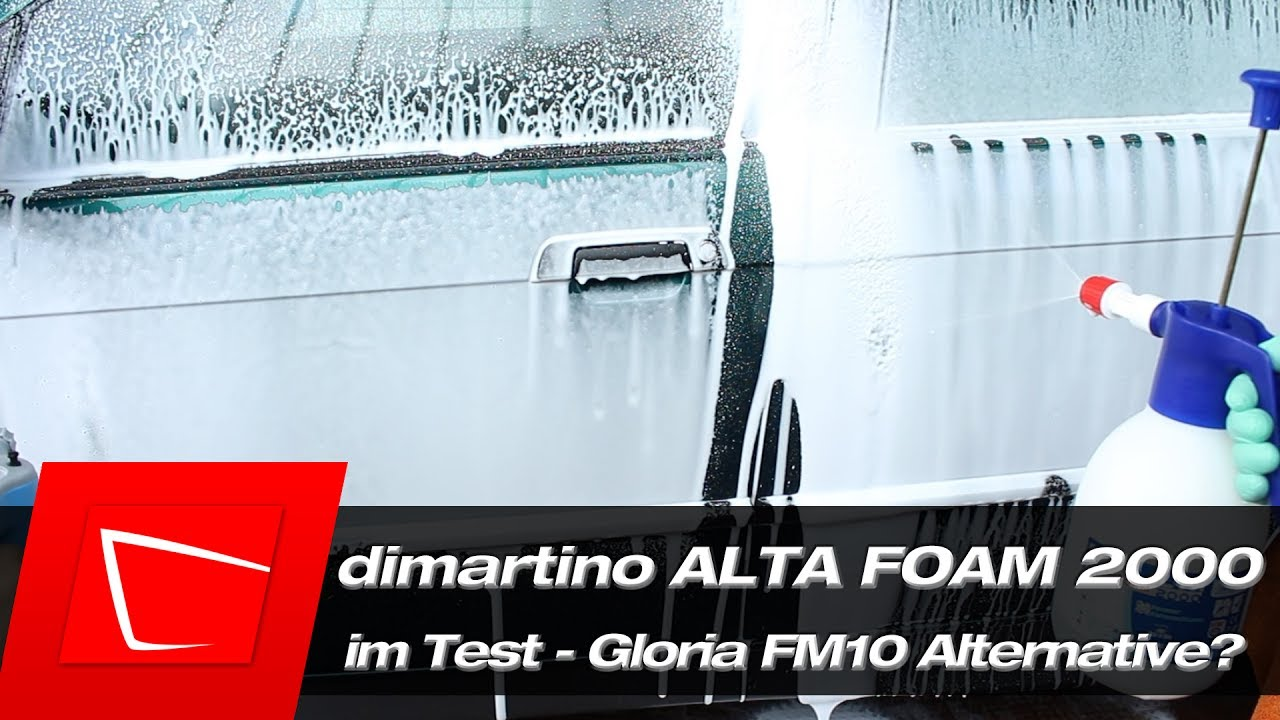 alta foam 2000 vs gloria fm10 schaumspr her im test. Black Bedroom Furniture Sets. Home Design Ideas