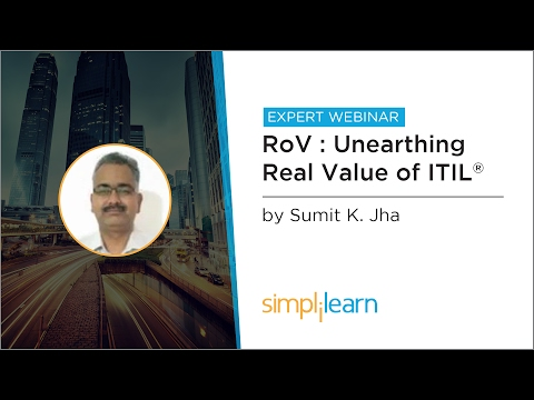 How Organizations Can Measure ITIL Initiatives - RoV vs RoI