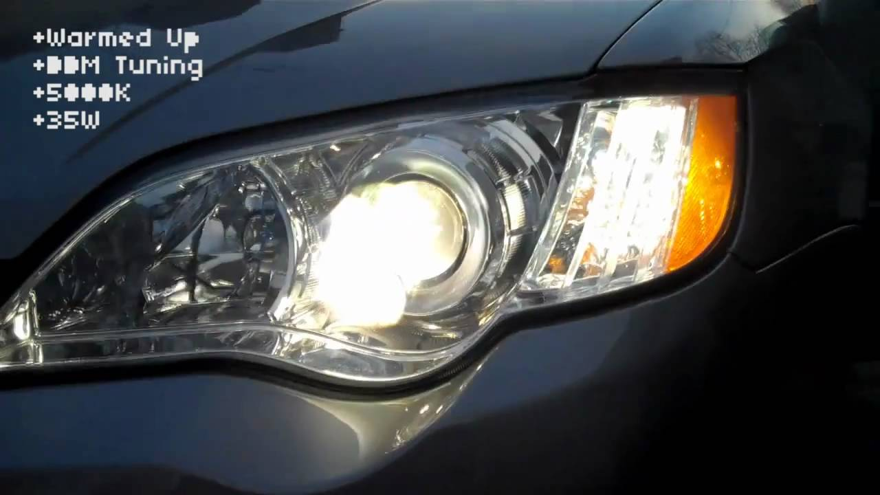 2009 subaru legacy gt led hid conversion youtube HID Lights