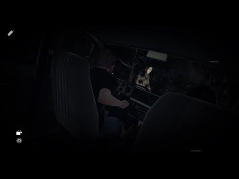 Friday the 13th Game Deborah Cox Gameplay Car Glitch the1andonlybon's Live PS4 Broadcast
