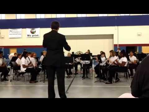 Anasazi - Palmetto Scholars Academy Middle School Band