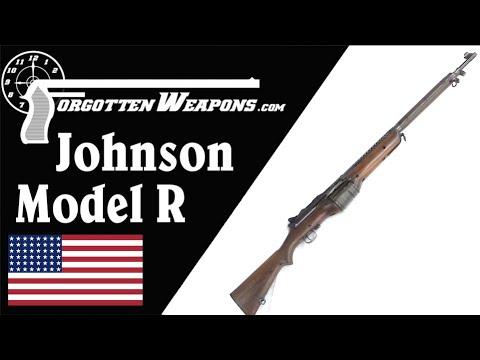 Prototype Johnson Model R Military Rifle
