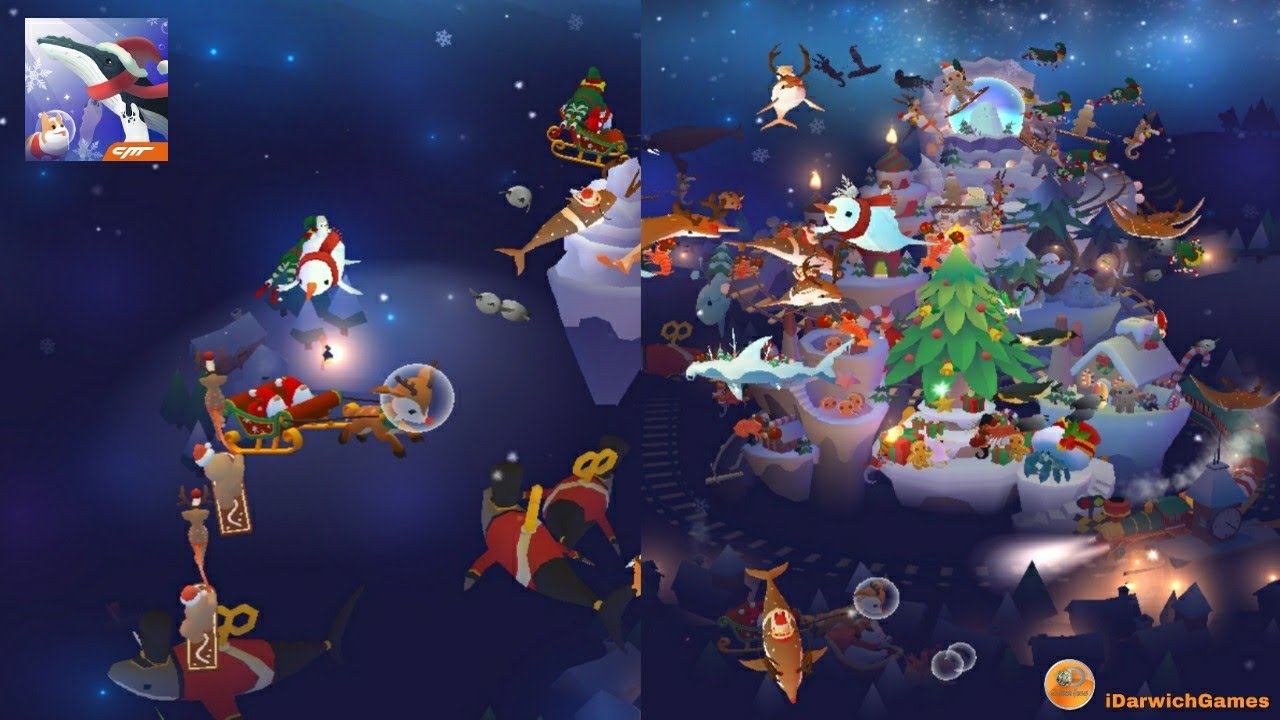 Tap Tap Fish Christmas 2020 Tap Tap Fish   AbyssRium   Christmas New event 2018   YouTube
