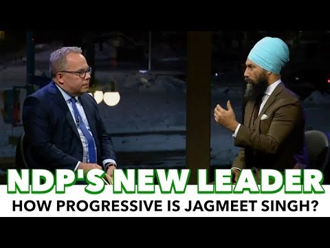 First Look Breakdown: Canada's New Progressive Leader Jagmeet Singh