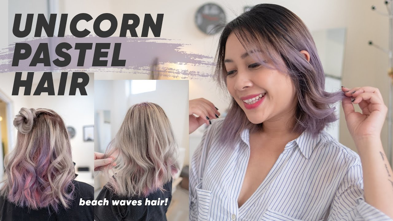 Warna Trend Rambut 2020 Free Hand Balayage Technique Youtube