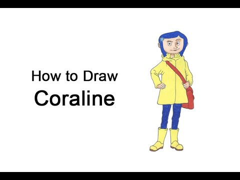 How To Draw Coraline Video Step By Step Pictures