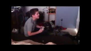 PSYCHO KID THROWS XBOX CONTROLLER!!!