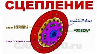 Устройство СЦЕПЛЕНИЯ (3D анимация)