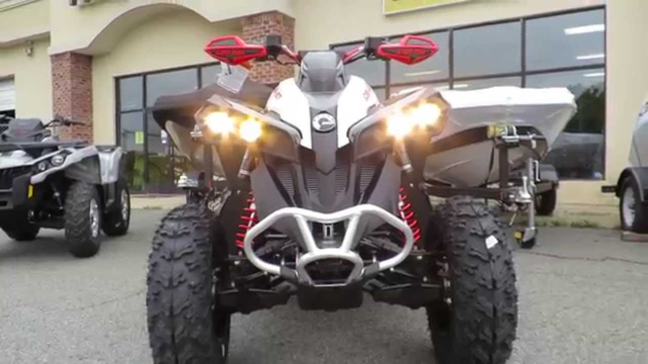 Can Am 570 >> 2016 Can AM Renegade 850 xXC Review Email: steven@lakenormanpowersports.com - YouTube