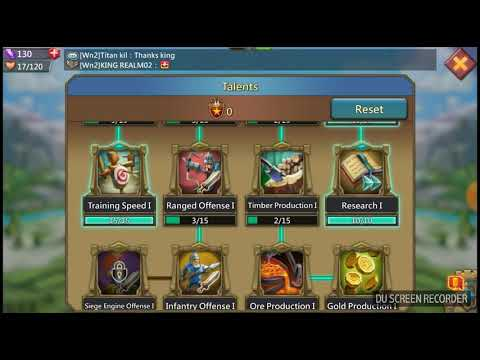 Lords Mobile Ep.5 Hero Skill Tree
