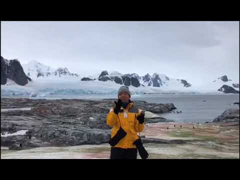 Shout-out to Sinda Youth Club from Antarctica