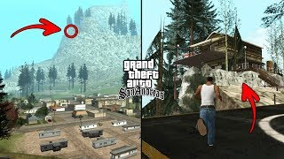 Secret House on Mount Chiliad in GTA San Andreas! (Hidden Place)