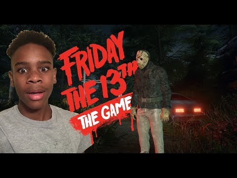HE HIT ME WITH A CAR!! Friday The 13th Game