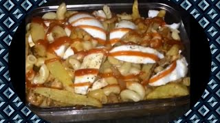Macaroni with fries & eggs special recipe